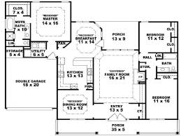 Single Story Farmhouse House Plans Farmhouse Plans   Porches