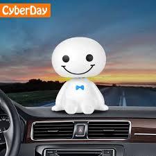<b>Car</b> Ornament <b>Cute</b> Shaking Head Baymax Robot Doll <b>Automotive</b> ...