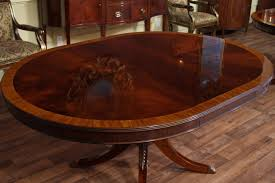 Mahogany Dining Room Furniture Sets MonclerFactoryOutletscom - Dining room tables oval
