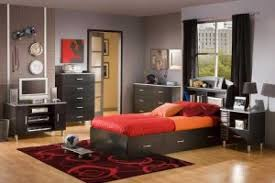 captivating teenage boy bedroom ideas in gray paint wall with pale black furniture storage cabinets and captivating cool teenage rooms guys