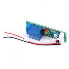 Kritne <b>JK11</b>-<b>PB Time Delay</b> Relay Module Timer Relay Board 5V 0 ...