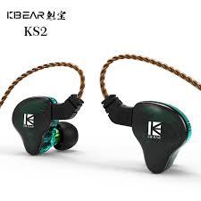BangBangStore <b>KBEAR KS2</b> 1BA + 1DD Ear Headphones HIFI ...