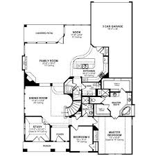 Custom Bedroom Floor Plans San Antonio New Home Floor Plans in    Great Master Suites House Plans from The House Designers   Bedroom House Floor Plans