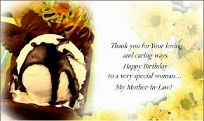New World Of Fun Happy Birthday Quotes For Ex Mother In Law via Relatably.com