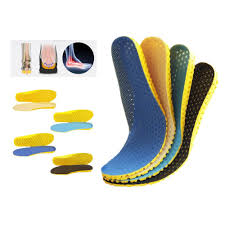 Breathable Insoles In <b>Sneakers</b> Orthopedic Light Deodorant Shock ...