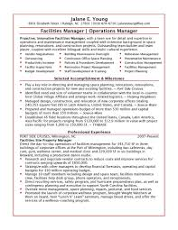 operations manager profile summary operations manager resume operations manager profile summary