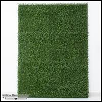 x plush wall: plush japanese boxwood living wall inl x inh indoor