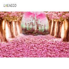 <b>Laeacco</b> Summer <b>Blooming</b> Tree Wooden Pathway Landscape ...