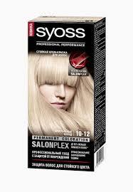 <b>Краска для волос Syoss Color</b> 10-12 Кристальный блонд 115 мл ...