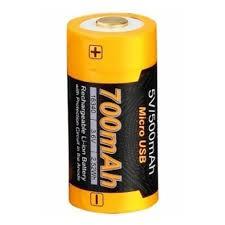<b>Аккумулятор Fenix</b> ARB-L16-<b>700U</b> (USB) (<b>16340</b>) Li-ion <b>700</b> мАч ...