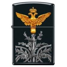 <b>Зажигалка Zippo Z218 RUSSIAN COAT OF ARMS</b> Двуглавый орёл ...