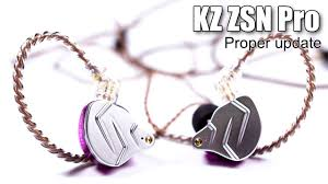 <b>KZ ZSN Pro</b> earphones review - YouTube