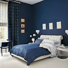 deep blue bedroom at awesome blue white contemporary bedroom interior modern
