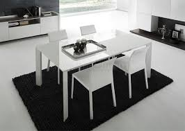 black and white dining table set: modern dining table and chairs uk on dining room design ideas in modern dining tables with