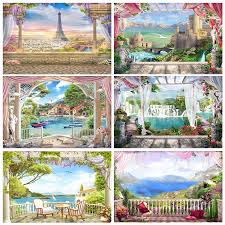 best photo backdrop of garden brands and get free shipping - a58