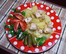 Простой и вкусный куриных грудок на сковороде