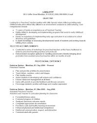 preschool teacher resume resume examples teacher preschool resume preschool assistant teacher resume template resume sample daycare sample resume for daycare teacher
