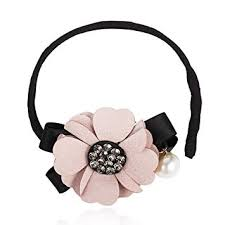CHIMERA Hair Bun Maker Fashion Pearls Crystal ... - Amazon.com