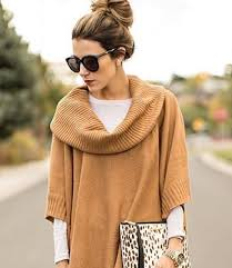 How To Wear a <b>Poncho</b>: 10 Ways To Pull Off The <b>Poncho</b> Look ...