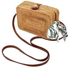 <b>Rattan</b> Hoop Earrings for Women <b>Woven Handmade</b> Straw <b>Wicker</b> ...