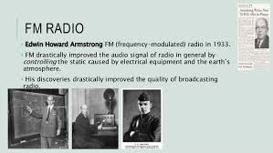 「Edwin Howard Armstrong developed fm」の画像検索結果