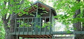 Tree House Plans to Build for Your KidsView in gallery Two tree treehouse design