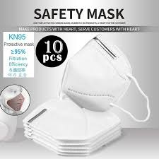 <b>10PCS N95</b>/FFP2 Antivirus Mask <b>Particulate Respirator</b> Mask ...