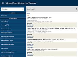 advanced english thesaurus android apps on google play advanced english thesaurus screenshot