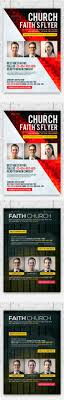 faith church flyers bundle flyers flyer template and church faith church flyer templates psd bundle here graphicriver