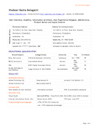 ui developer resume ui developer resume 5633