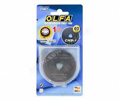 Сменное <b>лезвие</b> для раскройного <b>ножа Olfa</b>, Ø 60 мм.: цена ...
