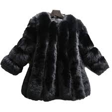 Lisa Colly Wome Winter Coat Warm <b>New Faux Fur Coat</b> Outerwear ...