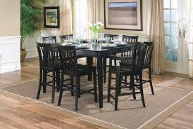 size dining room contemporary counter: counter height table and chairs black full size of
