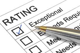 ways to assess your hiring process right now exceptional rating marked ballpoint pen could be performance appraisal customer service rating