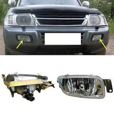 For Mitsubishi <b>pajero V73 2001-2003</b> 1set Front <b>Fog</b> Lamp Replace ...