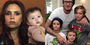 Brooklyn, Romeo, Cruz or Harper - who's your favourite? Beckham children. From left: Victoria Beckham with Harper; David Beckham with sons Romeo, ... - 79c621a511824bbeba4493ee9ce5a38b