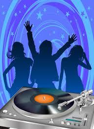 disco party poster template vector art graphics vector com disco party poster template