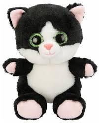 Мягкая <b>игрушка Fluffy Family</b> Крошка Котенок черный 15 см ...