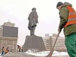 Ukrayna'daki Lenin heykeline bombalı saldırı