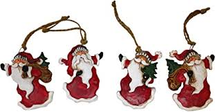 Santa Claus Tree Ornaments - Amazon.com