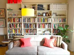 Living Room With Bookcase Bookcases Apartment Therapy
