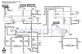 trans am wiring diagram 4th gen lt1 f body tech aids headlight foglight schematic 1995 camaro