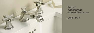 bathroom facuets  kohler widespread bathroom sink faucets