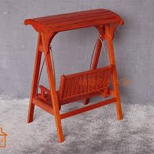 doll patio furniture swing table   scale wooden swing ampquot doll miniature garden dollhouse furniture