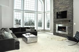 living roomawesome modern smal living room with fireplace complete with cozy red armchair plus awesome large living room
