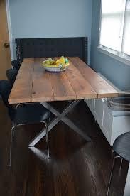 farm table steel legs