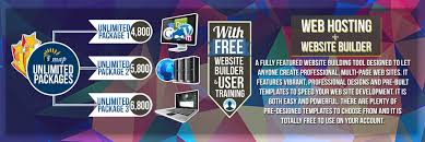unlimited web hosting website builder new banner webhosting text 2016