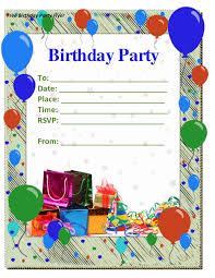 birthday party invitation templates word com party invitation templates word birthday invitations templates for kids
