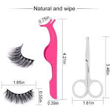 False Eyelashes ALLFY Eyelashes <b>5 Pairs 3D Mink</b> Fake Eyelashes ...