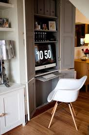 hidden home office how to create the perfect home office atlas chunky oak hidden home office